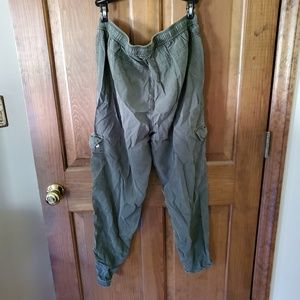 Mossimo Supply Co. Pants - Mossimo Olive Cargo Joggers